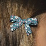 Liberty hair clip petrol - Dessin Design