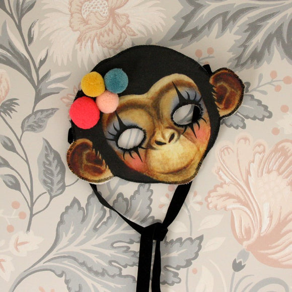 Monkey mask - clown - Dessin Design