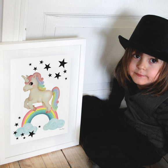 Unicorn poster - Dessin Design