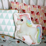Unicorn cushion - Dessin Design
