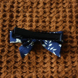 Liberty hair clip navy - Dessin Design