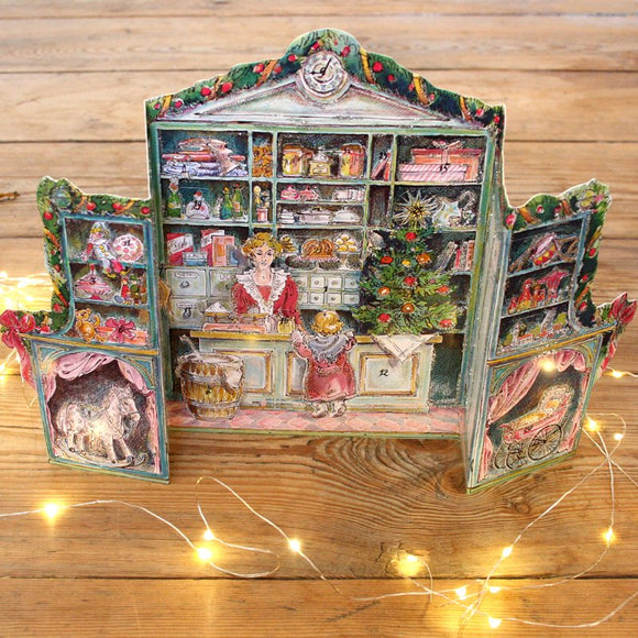 3D Advent calendar - shop - Dessin Design