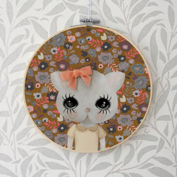 Myrthel, wall hoop - Dessin Design