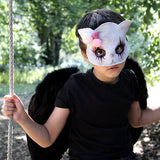 Cat mask - clown - Dessin Design