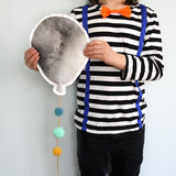 Balloon - gray/green, mobile - Dessin Design