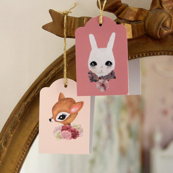 2 Cute labels with string - Dessin Design