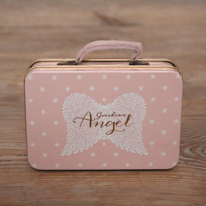 Maileg Metal suitcase in pink - Dessin Design