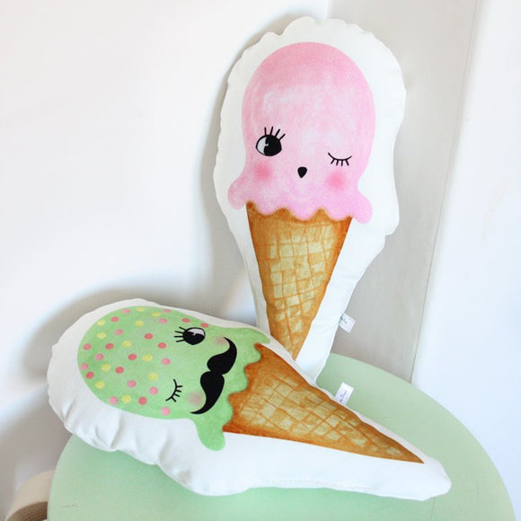 Ice cream cushions - Dessin Design