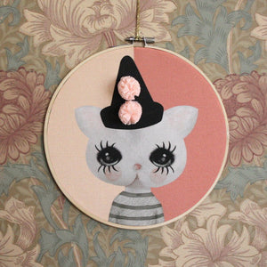 Belle, wall hoop - Dessin Design