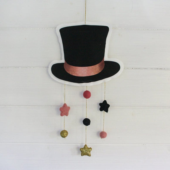 Top hat mobile - Dessin Design