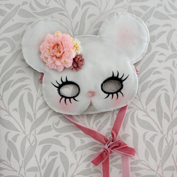 Mouse mask - pink - Dessin Design