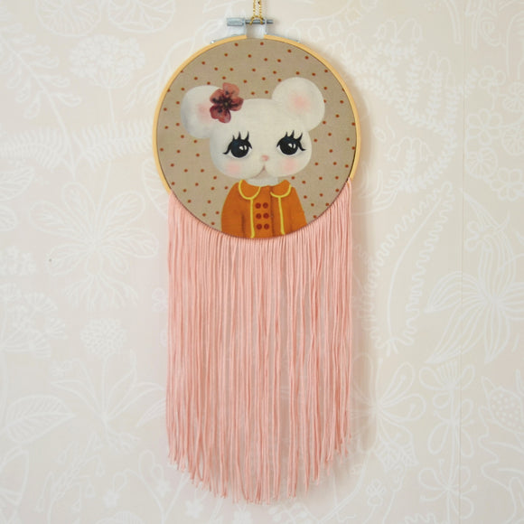 Ester, small wall hoop - Dessin Design