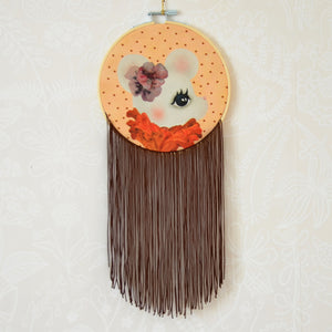 Rut, small wall hoop - Dessin Design