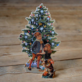 3D Christmas card - tree
