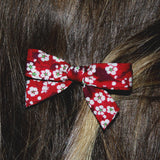 Liberty hair clip red - Dessin Design