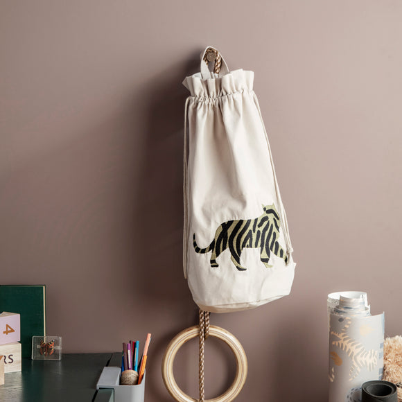 Ferm Living, Safari Storage Bag, Tiger
