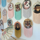 Fringe wall hoops - Dessin Design