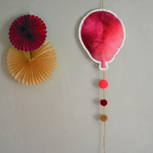 Balloon - hot pink - Dessin Design