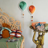 Balloon - rust & green - Dessin Design