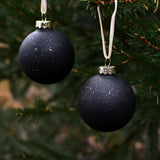 Christmas bauble - black, Dessin Design
