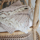 Mellow Tawny blanket - Garbo&Friends, Dessin Design