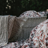 Mellow Tawny blanket and cherry blanket - Garbo&Friends