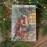 Vintage post card - santa - Dessin Design