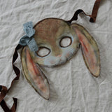 Bunny mask - yellow, Dessin Design