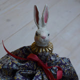 White bunnyhead on stick, Alot, Dessin Design