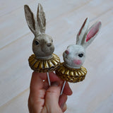Bunnyheads on stick, Alot, Dessin Design