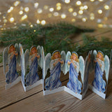 Fold out paper row - blue angels - Dessin Design