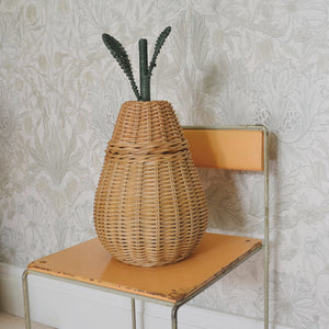 Ferm Living, Pear Braided Storage - Small. Dessin Design