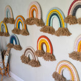 Rainbow wall hangings - Dessin Design