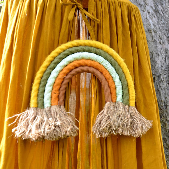 Rainbow wall hanging, autumn - Dessin Design