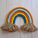 Rainbow wall hanging, brick - Dessin Design