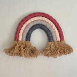Rainbow wall hanging, dawn - Dessin Design