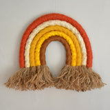 Rainbow wall hanging, rust - Dessin Design