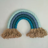 Rainbow wall hanging, sea - Dessin Design