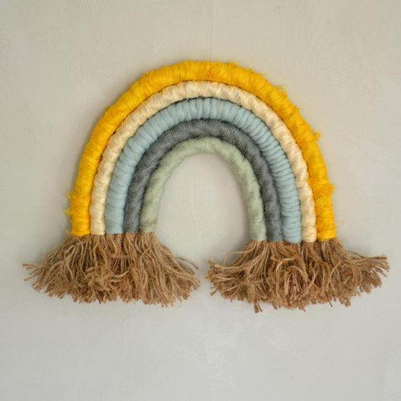 Rainbow wall hanging, spring - Dessin Design