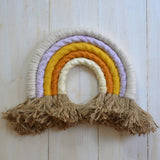 Rainbow wall hanging, sunrise - Dessin Design