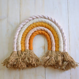 Rainbow wall hanging, sunset - Dessin Design