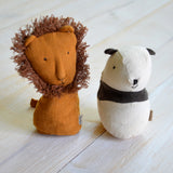 Maileg - Lion and panda rattle - Dessin Design