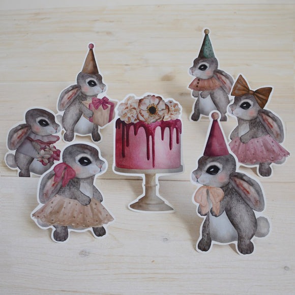 Party bunnies - small