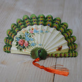 Card - Peacock-fan