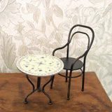 Maileg - Vintage Tea table, chair - Dessin Design