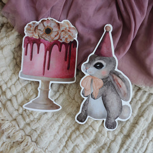 Party bunnies - big, DIY - Dessin Design