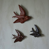 Flying Swallows - brown - Dessin Design