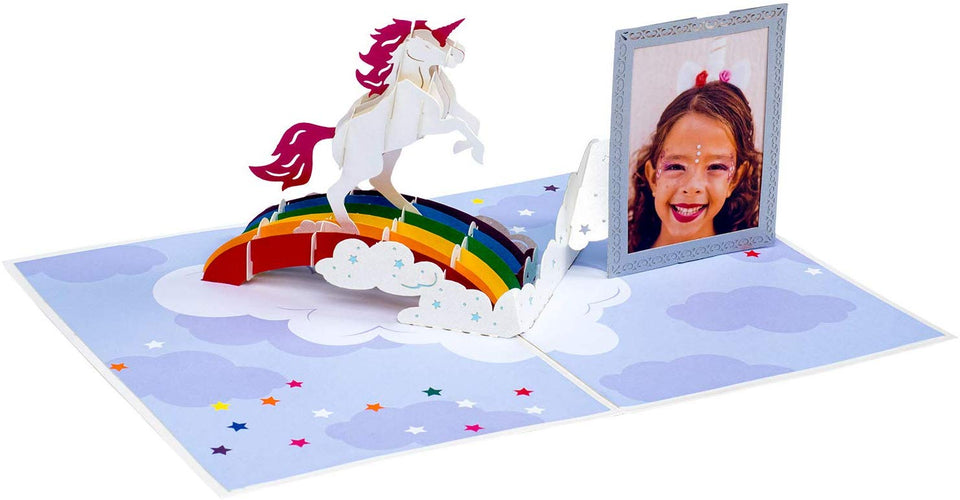 Unicorn Pop Up Birthday Card