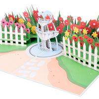 Garden Pop Up Card
