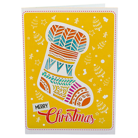 Christmas Party Pop Up Card